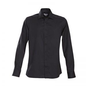 J. Harvest & Frost Green Bow 01, Sort skjorte af lækker kvalitet
