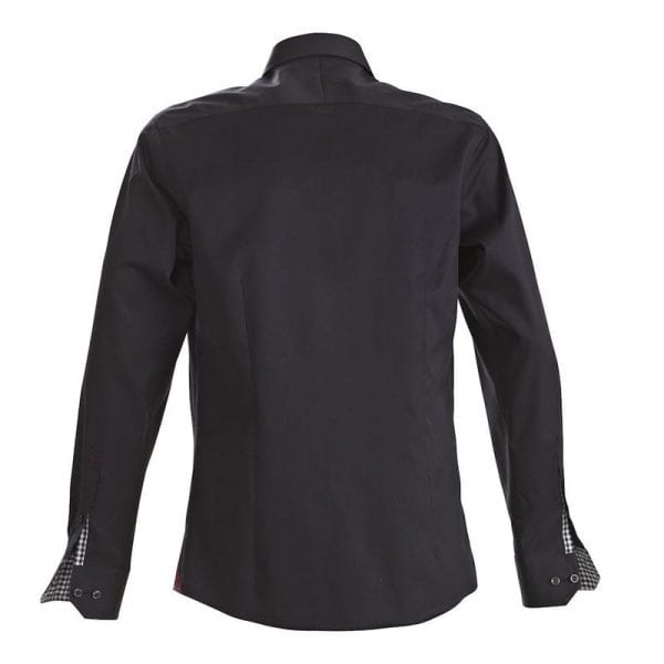 J. Harvest & Frost Red Bow 20, sort skjorte af lækker kvalitet Regular