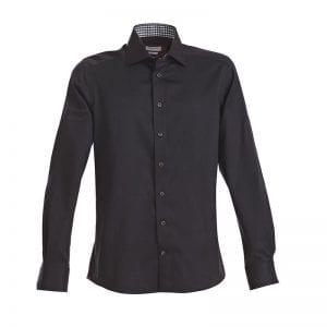 J. Harvest & Frost Red Bow 20, black skjorte af lækker kvalitet Regular