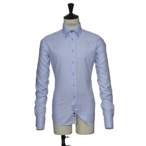 J. Harvest & Frost Red Bow 26, Slim fit model sky blue striber