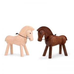 Kay Bojesen Hest Lys Hest Moerk - ikoniske designklassikere