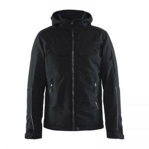 CRAFT Utility Jacket Men, Lækker jakke i god kvalitet med mange lommer og fine detaljer. Sort herremodel