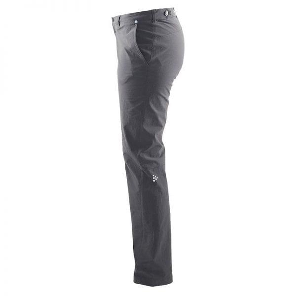 CRAFT In The Zone Pants, bukser, kvindemodel i god kvalitet til hverdagens mange gøremål. Fra siden