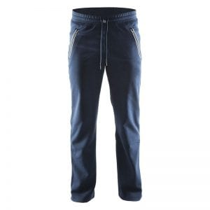 Craft ''In the Zone Sweatpants '' - denne sweat buks har en hvid lynlåsdetalje på lommerne og gør det godt som aktiv buks eller slap af bukser.