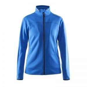 CRAFT Løbejakke til kvinder i lækker kvalitet med tilpassede detaljer for entuisiasten, ses her i farven blå