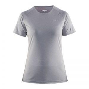 CRAFT Prime Tee løbe T-shirt i lækker kvalitet. Lys grå