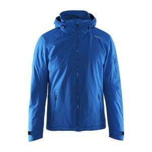 CRAFT Isola Jakke herremodel i god kvalitet med en smuk blå farve