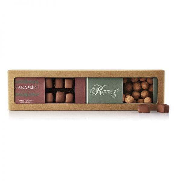 Karamel med flødechokolade fra Kjaramjel Fabrjkken