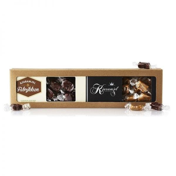 Kjaramjel med chokolade/mint 230 gram