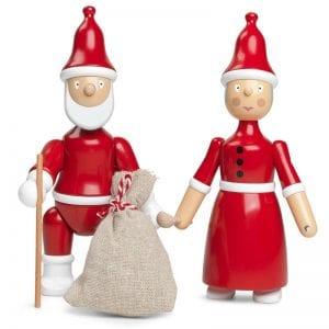 Kay Bojesen julemand og Julekone