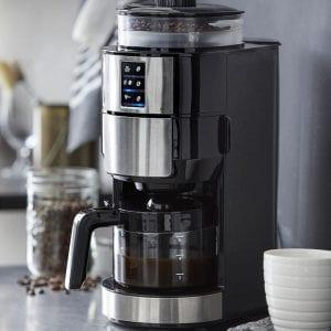 Kaffemaskine fra Funktion med kvæn til bønner 750watt