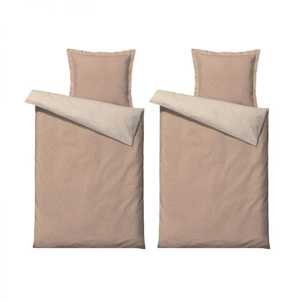 Södahl Harmony Renforcévævet 100% bomuld sengetøj nude 140x200cm