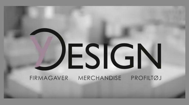 Y-design logo video image