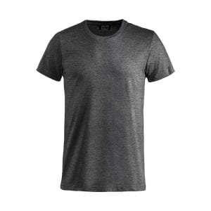 Basic T-shirt fra CLIQUE, lækker kvalitet med forstærket detaljer. Ses her i mørke grå