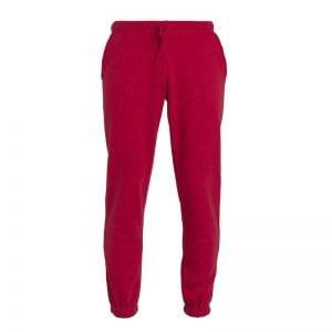 Basic unisex jogging bukser fra CLIQUE - god og behagelig pasform med elastik. Ses her i farven rød