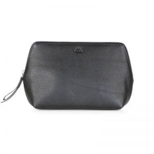 Markberg taske - Aloma Make Up Purse Large i sort skin
