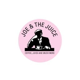 Logo for Joe and the Juice, økolpgisk kaffe juice og lækker kvalitetsmad