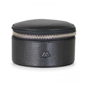 Markberg taske - Lova Jewelry Box i sort skin bagfra