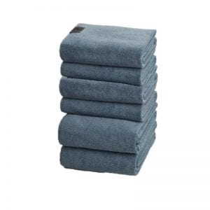 Georg Jensen Damask blå håndklæder