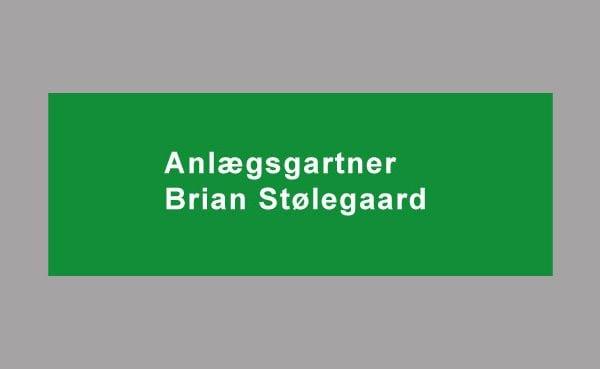 Anlægsgartner brian stølegaard logo til portfolio