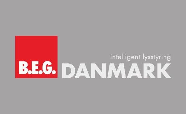 B.E.G. Danmark - Intelligent lysstyring. Logo til portfolio