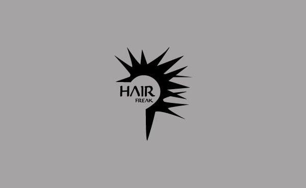Hair Freak Kolding logo til portfolio