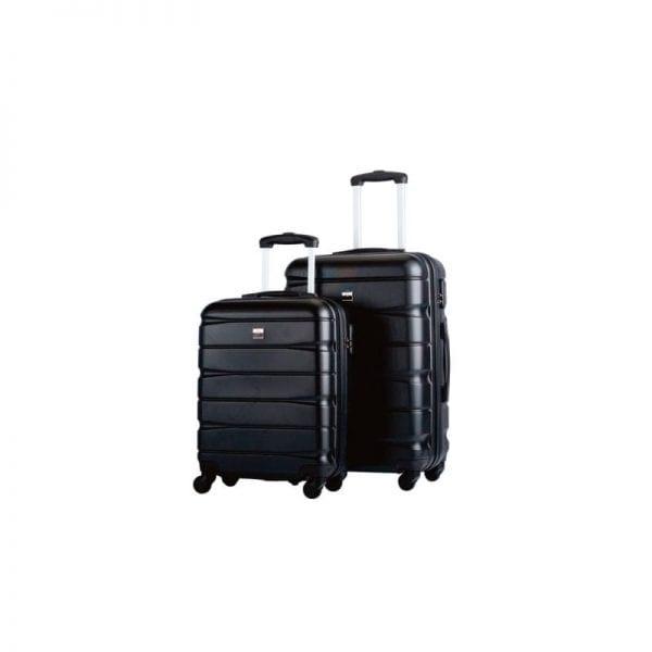 Lækkert hardcase kuffertsæt fra Bon Gout med mulighed for logo påsætning, alså du kan få en kuffert med logo