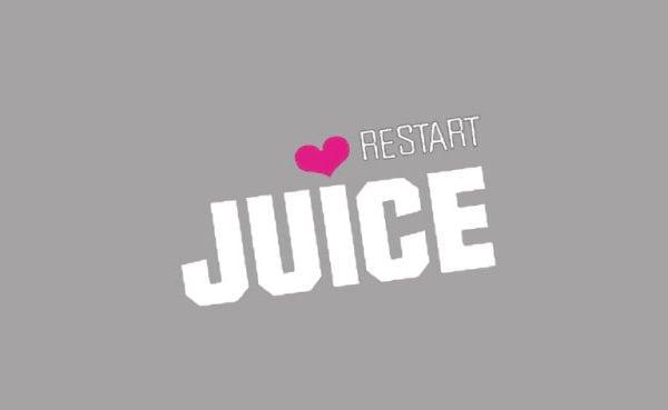 Restart juice logo portfolio