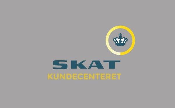 Skat kundecenteret logo til portfolio