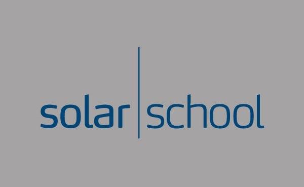 Solar School logo til portfolio