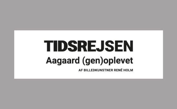 Tidsrejsen genoplevet af René holm Logo portfolio
