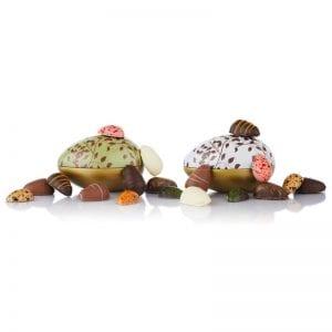 2stk Fyldte Chokoladeæg 0190009