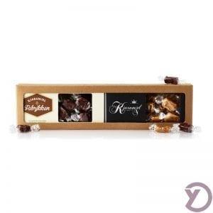 20201040 Karamjel Fabrikken 2 Stk. Karamjeller Med Mint: Cjokolade Og Lakrjds fra Y-design