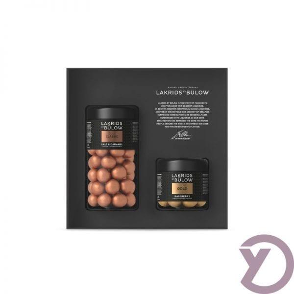Lakridsbybulow Giftbox Classic / Gold fra Y-design