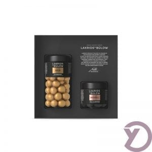 Lakridsbybulow Giftbox Gold / Snaowball fra Y-design