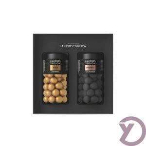 Lakridsbybulow Giftbox Snow Gold / Snowball Regular fra Y-design