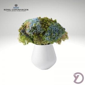 royal-copenhagen-hvid-riflet-vase-12cm