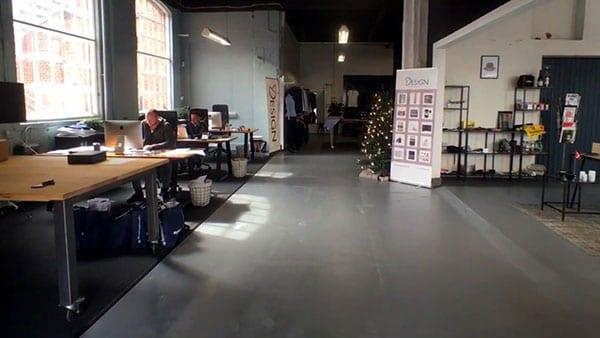 Y Design Showroom Arbejdspladser